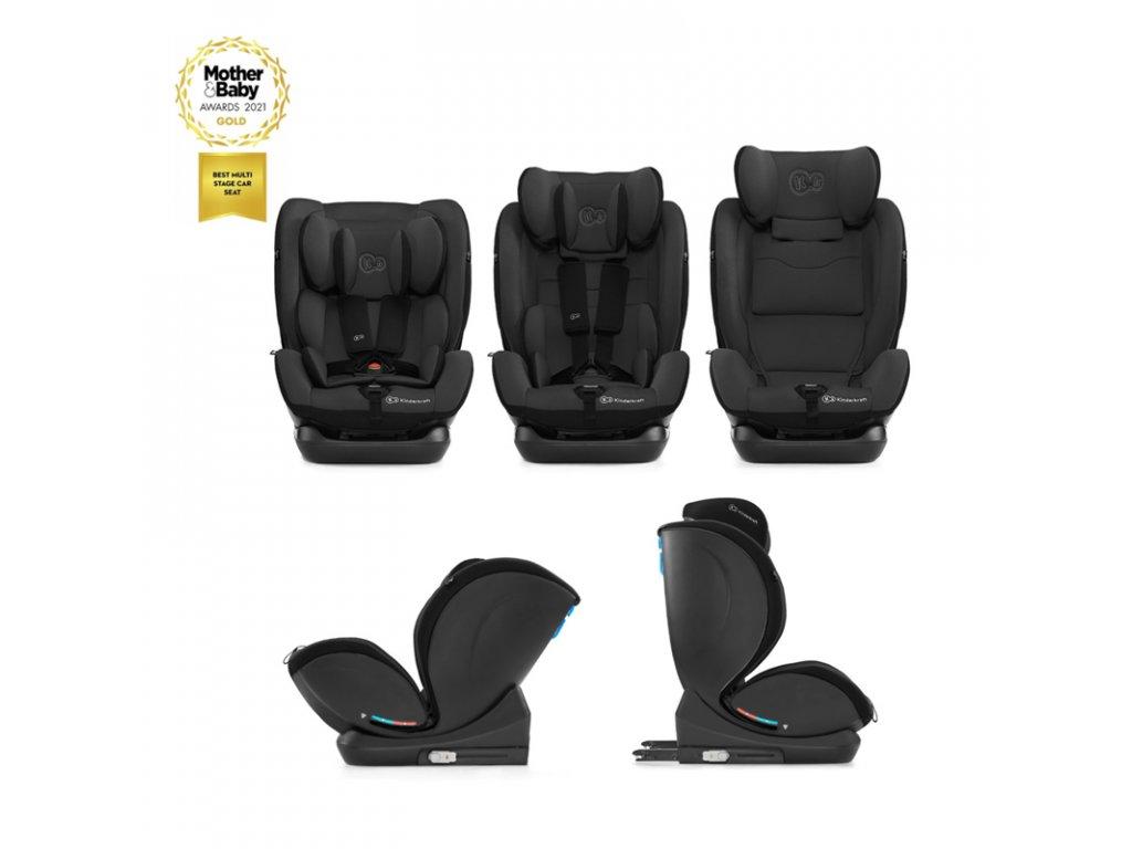 Autosedačka MyWay Isofix black 0-36 kg Kinderkraft 2020