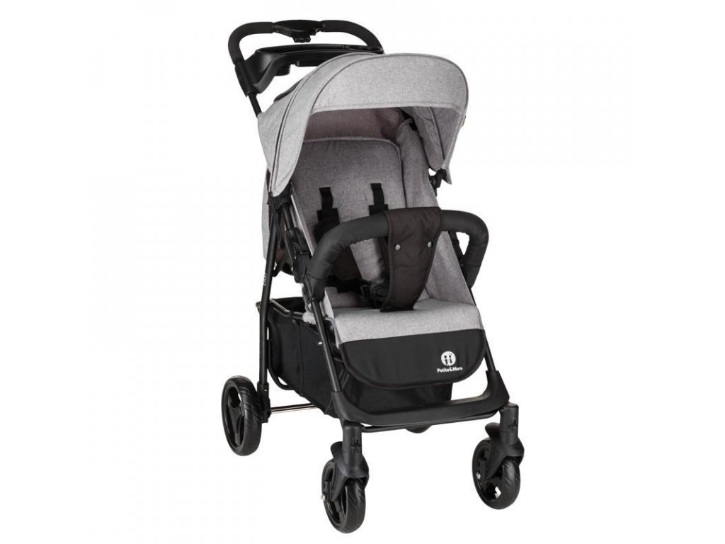 PETITE&MARS Kočárek sportovní Easy - Shadow Grey 2020