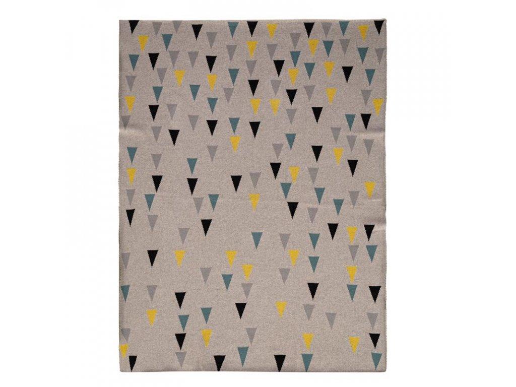PETITE&MARS Deka Harmony Happy Triangles 80 x 100 cm 2020