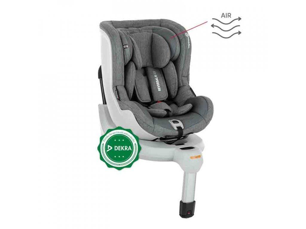 PETITE&MARS Autosedačka Reversal II Isofix Stone Air (0-18 kg) 2020