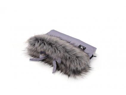 rukavnik cotton moose gray