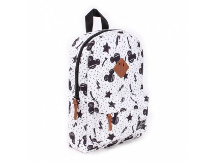 088 9087 batoh kidzroom disney fashion mickey my little bag bílý