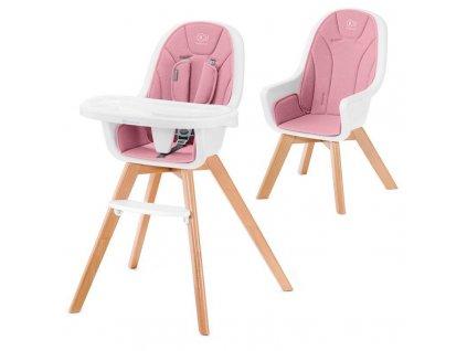 Židlička jídelní 2v1 Tixi Pink Kinderkraft 2020