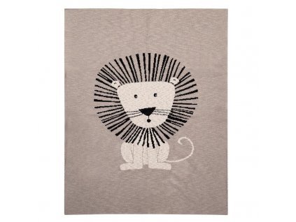 PETITE&MARS Deka Harmony Brave Lion 80 x 100 cm 2020