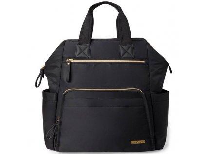 Taška přebalovací / batoh Mainframe Black