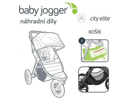 BabyJogger KOŠÍK CITY ELITE 2 2021
