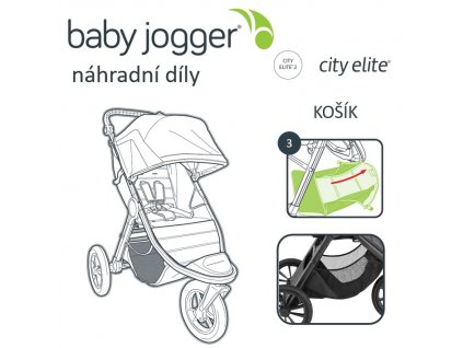 BabyJogger KOŠÍK CITY ELITE 2
