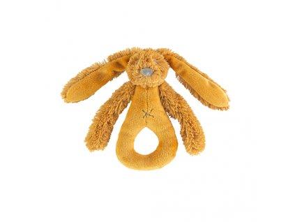 Happy Horse - chrastítko králíček Richie okrový