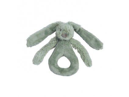 Happy Horse - Chrastítko králíček Richie zelené Velikost: 18 cm