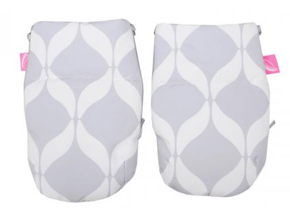MOTHERHOOD Rukavice na kočárek Softshell Classics Grey 1 pár