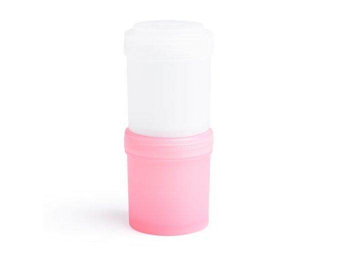 Herobility zásobník HeroStorage 100ml růžový bílý 2ks