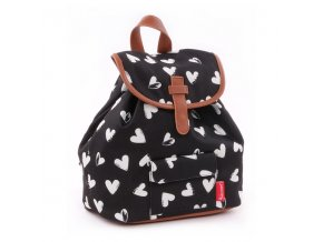 481 ruksak black white black hearts