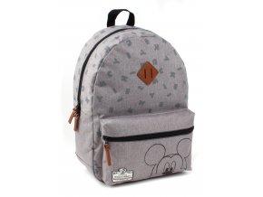 Dětský batoh Mickey Mouse 90th Anniversary šedý velký