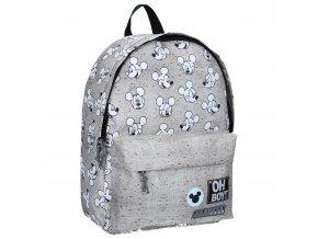 Dětský batoh Mickey Mouse Go For It! Disney fashion velký šedý