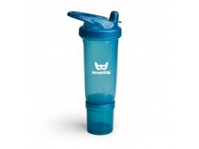 Dětská Sportovní láhev s brčkem 300ml modrá