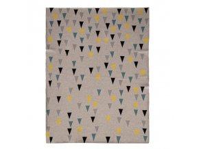 PETITE&MARS Deka Harmony Happy Triangles 80 x 100 cm