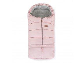 Zimní fusak a rukávník 3v1 Petite&Mars Flamingo Pink, set