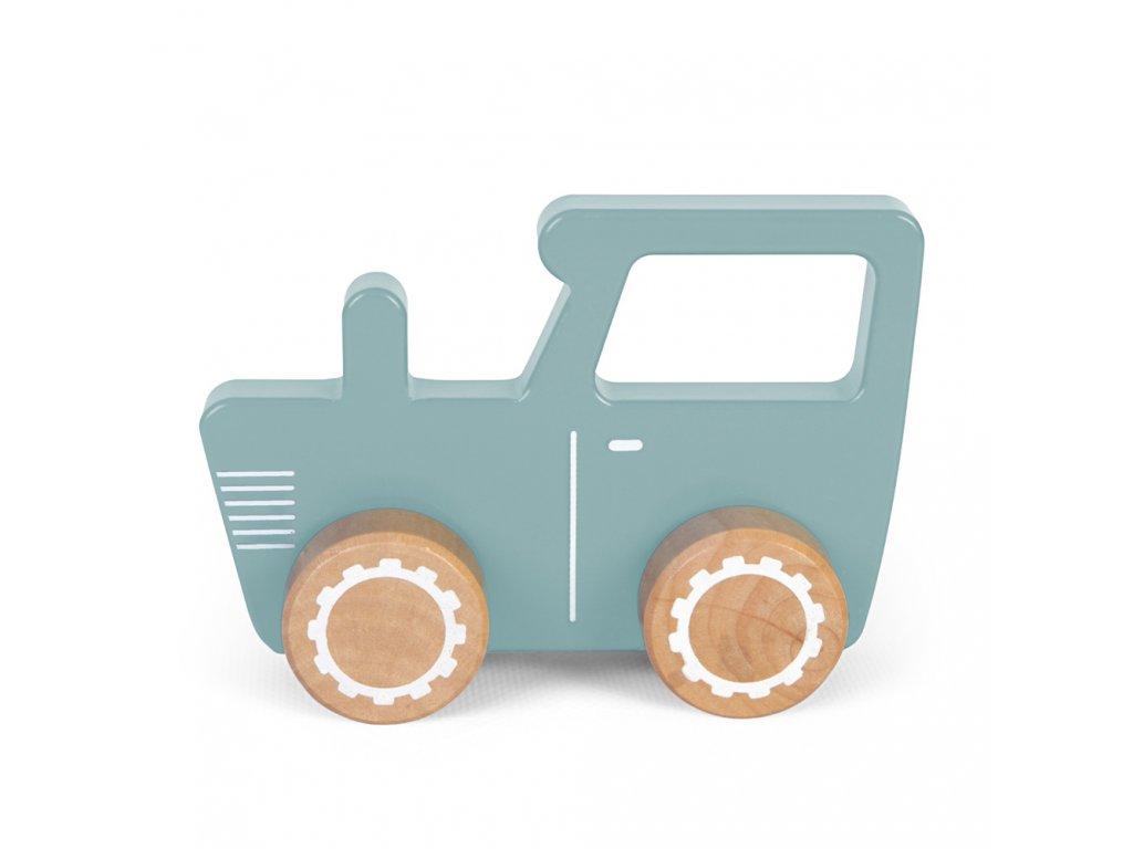 Traktor dřevěný Little Dutch