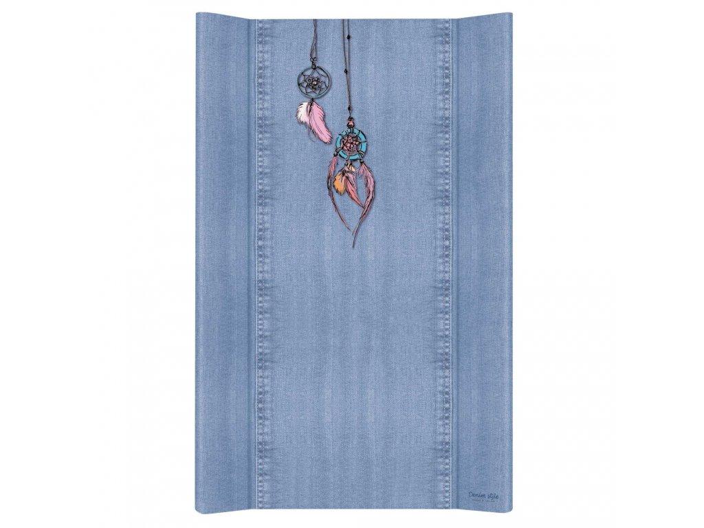 Ceba Přebalovací podložka Tvrdá dvouhranná 80cm Denim Style Dream Catcher blue