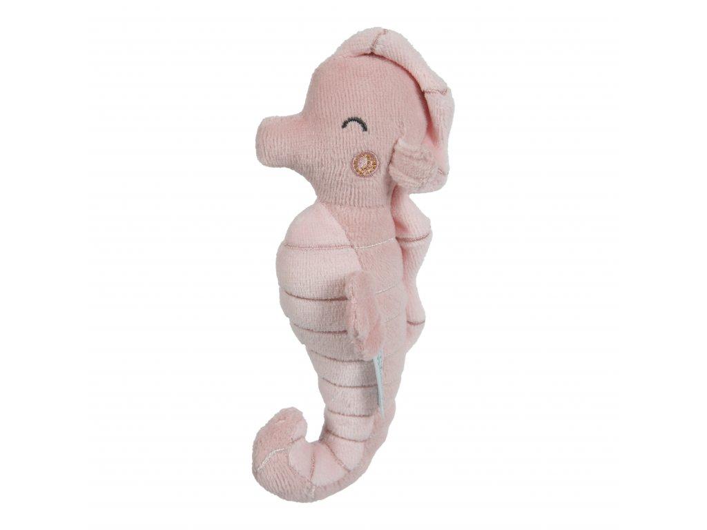 Chrastící mořský koník Ocean pink Little Dutch