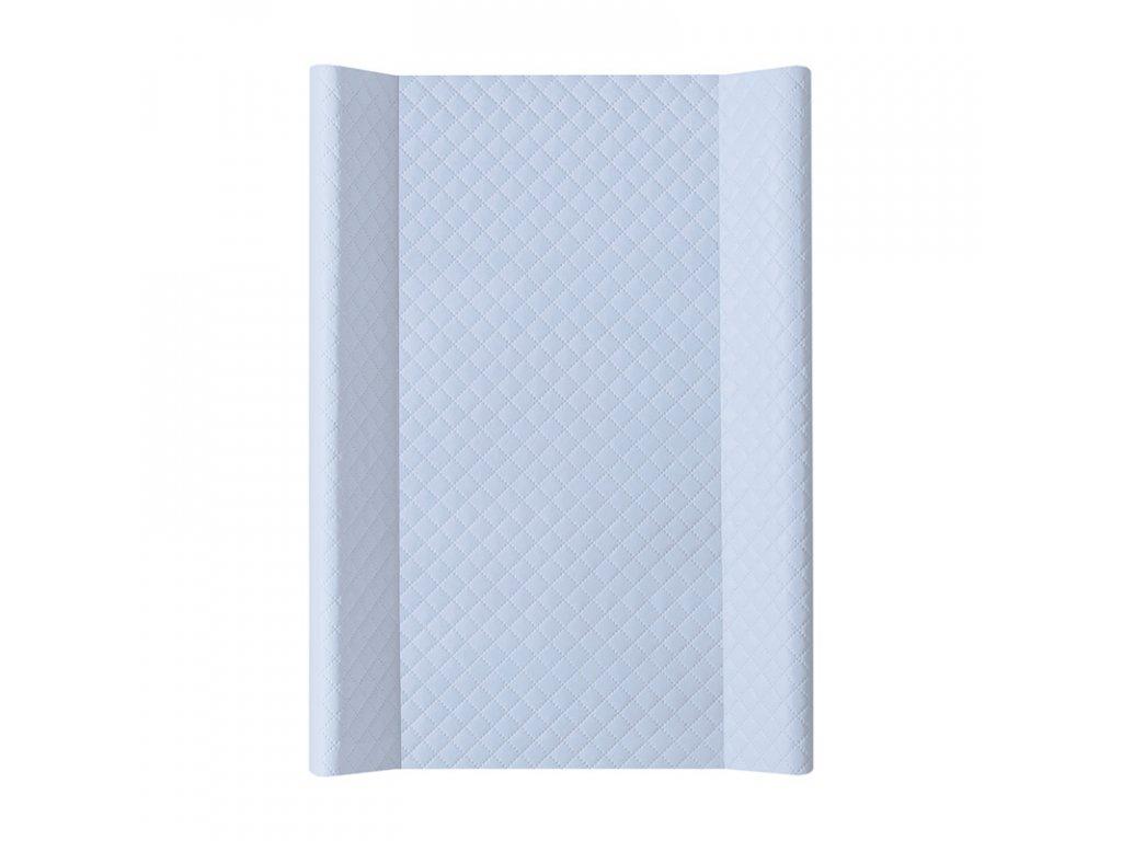 Ceba Přebalovací podložka Tvrdá dvouhranná 70cm Caro modrá