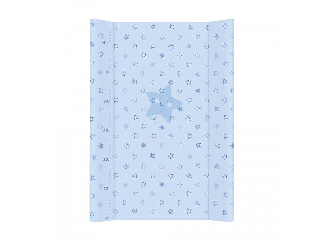 Ceba Přebalovací podložka Měkká dvouhranná 70cm Hvězdy modrá