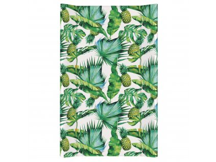 Ceba Přebalovací podložka Tvrdá dvouhranná 80cm Flora & Fauna Ananas
