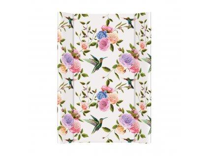 Ceba Přebalovací podložka Měkká dvouhranná 70cm Flora & Fauna Květiny