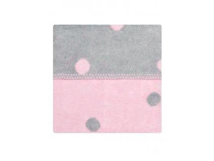 Dětská bavlněná deka Womar 75x100 růžová