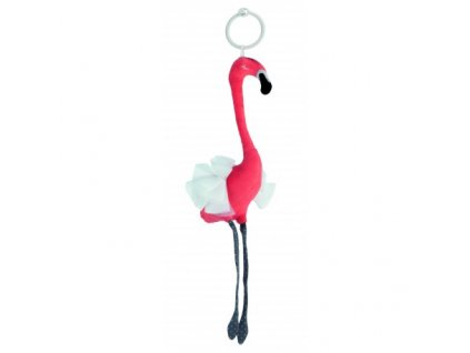 Canpol babies Plyšová hračka JUNGLE Plameňák  korálový