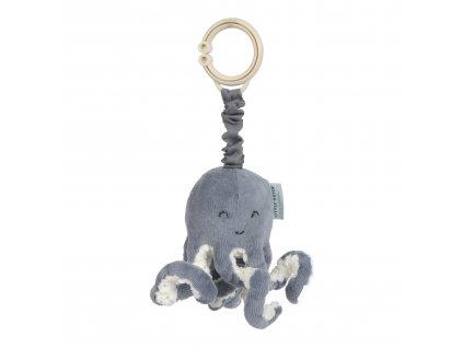 Vibrační chobotnice Ocean blue Little Dutch