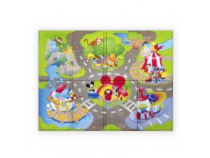 Podložka pěnová skládací Disney Pals 120 x 89cm 6m+