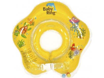 Baby Ring 0-24 měs. žlutá