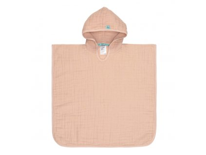 Muslin Poncho light pink