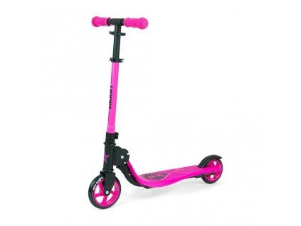 Dětská koloběžka Milly Mally Scooter Smart růžová