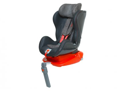 Autosedačka ISOFIX GLIDER CARBON (9-18) RACE RED