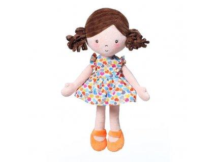 BABYONO Hračka panenka Lena oranžová