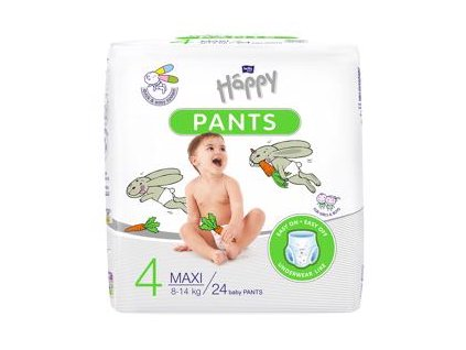 BELLA HAPPY Pants Maxi (8-14 kg) 24 ks - jednorázové pleny