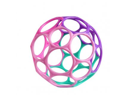 OBALL Hračka Oball™ Classic 10 cm 0 m+ růžovo / fialová