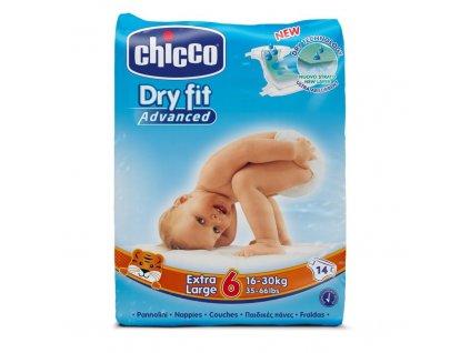 CHICCO Plenky jednorázové Extra Large (16-30 kg) 14 ks