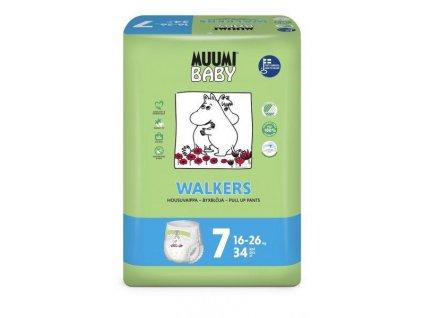 MUUMI Walkers Extra Large 34 ks (16-26 kg) – jednorázové pleny
