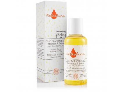 NEBIOLINA Masážní olej pro miminka i maminky