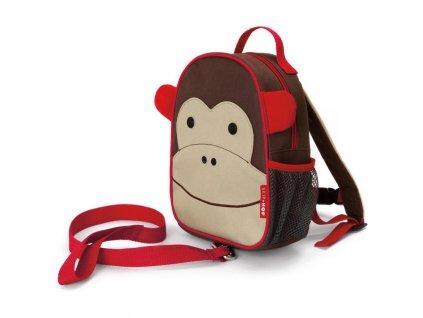 Zoo Batůžek s bezpečnostním vodítkem Opička 1+