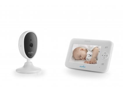 "Video baby monitor 4,3"", White"