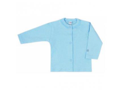 Kojenecký kabátek Bobas Fashion Mini Baby tyrkysový