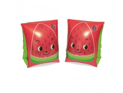 Dětské nafukovací rukávky Bestway fruit red
