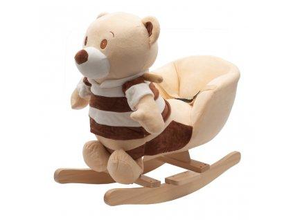 Houpací hračka s melodií PlayTo medvídek pruhovaný