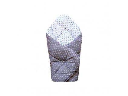 Zavinovačka Sleeplease 80x80 cm - HVĚZDY