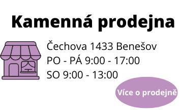 Banner kamenná prodejna Benešov