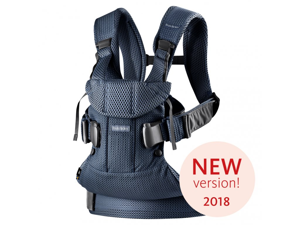 Ergonomické nosítko Babybjorn ONE Navy blue 3D Mesh 2018